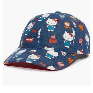 LEVIS x HELLO KITTY Baseball Hat Cap NEW
